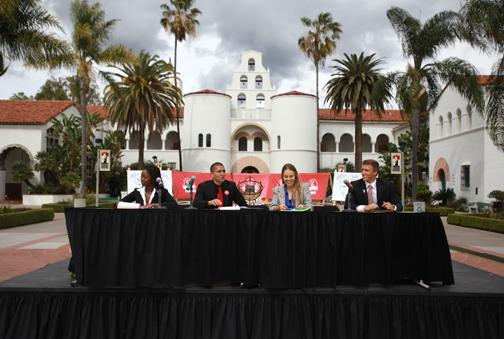 A.S. presidential debates focus on communication, campus policy