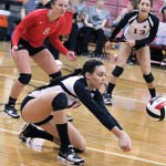 Volleyball comes home with mixed results