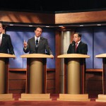 Top mayoral candidates face off in debate