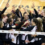 Volleyball defeats Boise and Utah State