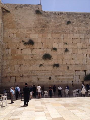 The Western Wall, Israel.