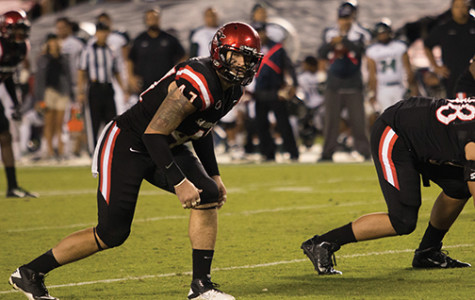 Aztecs bruise title hopes with Boise loss