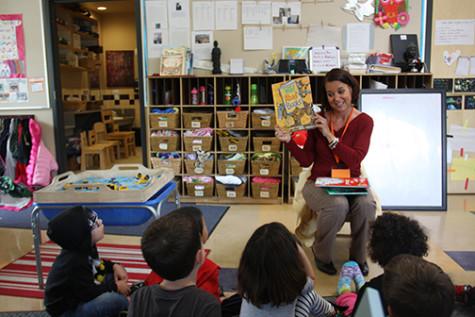 Reading event promotes literacy at SDSU Children's Center