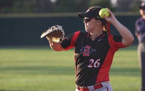 Aztec softball sweeps Utah State in record-setting weekend