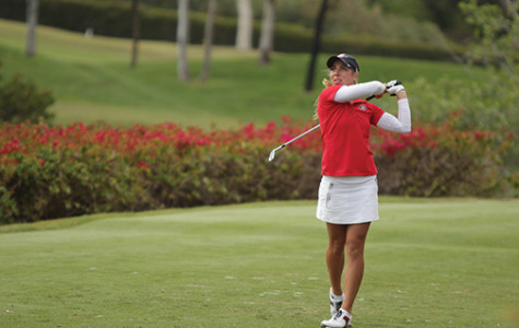 Aztec women's golf preps for regionals