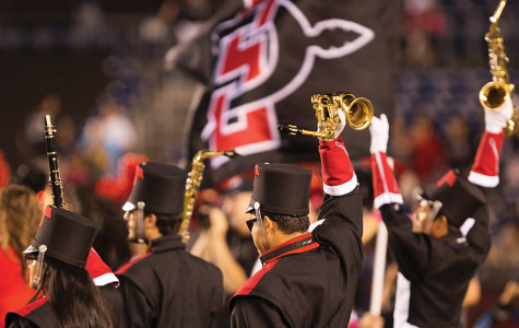 Marching Aztecs strive toward perfection with busy schedule