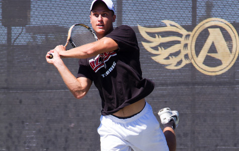 Aztec men's tennis comes up with 2 big wins on road over the  weekend