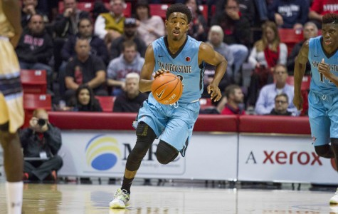 Inconsistent guard play an early theme for the Aztecs