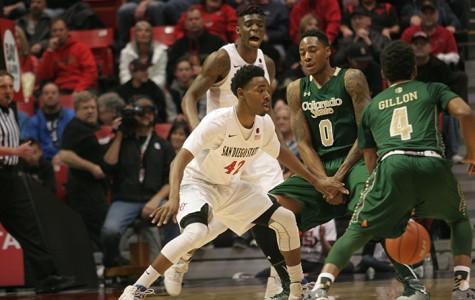 SDSU basketball makes a run at history against a tough New Mexico team