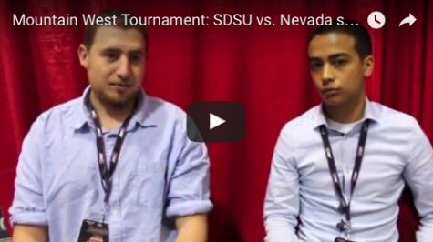 VIDEO: SDSU vs. Nevada MW Tournament postgame analysis