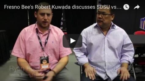 VIDEO: Fresno Bee's Robert Kuwada discusses SDSU vs. Fresno State MW Tournament championship game