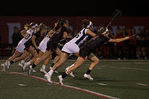 Powerhouse Stanford hands SDSU lacrosse a defeat in final game of season