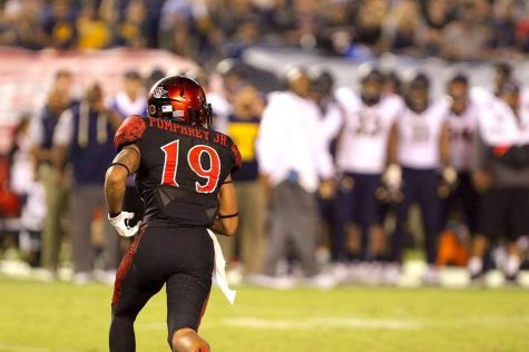 Pumphrey Continues Dominance in SDSU's 42-28 Win Over Northern Illinois