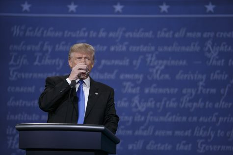 SDSU students discuss presidential candidates after third debate