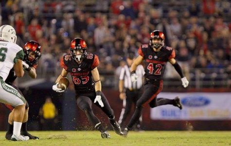 SDSU outdueled by Wyoming, 34-33