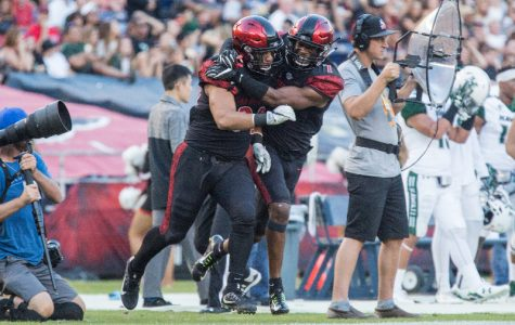 Aztecs complete first shutout in MW play with 55-0 win over Hawaii