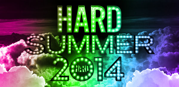Let's talk about the HARD Summer 2014 line-up