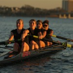 Lady Aztecs row toward victory