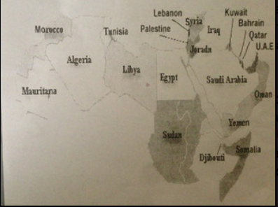 Middle East map stirs controversy on campus