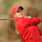 Women's golf drives for a title